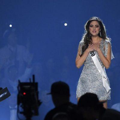 La mexicana Sofía Aragón, tercer lugar en Miss Universo
