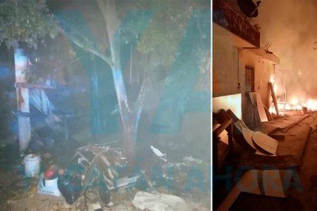 Alcoholizado, quemó el taller de su jefe al dormirse cuando fumaba