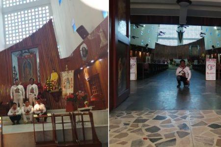 Su fe guadalupana los lleva de Tikuch a Minatitlán, Veracruz
