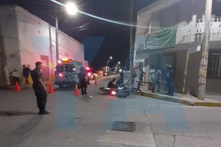 Trágico choque de motos en Motul: muere el causante de la colisión