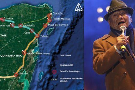 Cancelar el Tren Maya sería el 'error más grande', dice Armando Manzanero