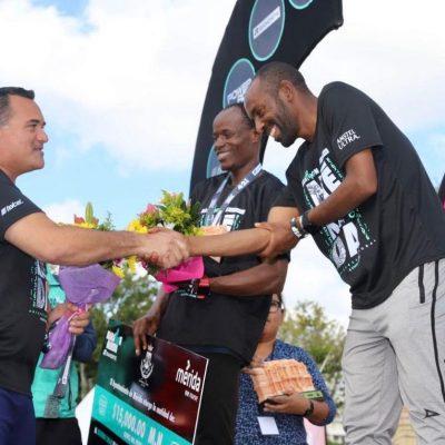 Africanos, pero no de Kenia, dominan en el Marathón Mérida Banorte