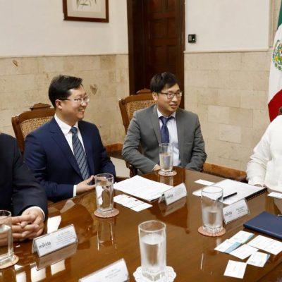 Ciudad China de Nanchang quiere fortalecer lazos y acuerdos con Mérida