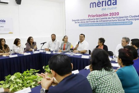 Inversión histórica en obras del ramo 33 en Mérida