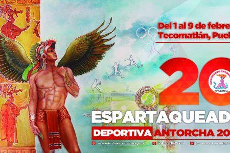 Convocan a Espartaqueada Deportiva 2020
