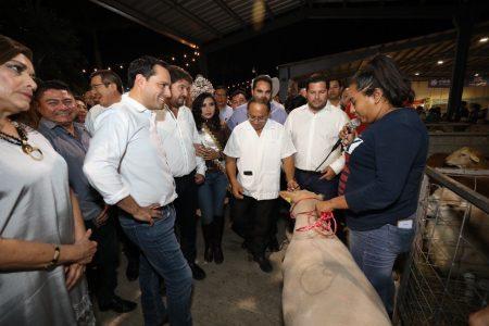 El gobernador Mauricio Vila inaugura la Expo Feria Tizimín 2020