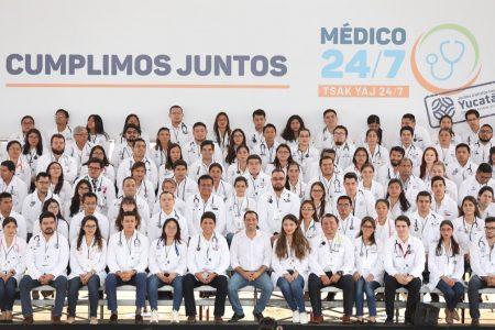Programa Médico 24/7 ya tiene cobertura en todo Yucatán