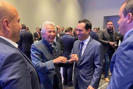 Mauricio Vila asiste a reunión de la Conago y el Gabinete de Seguridad federal