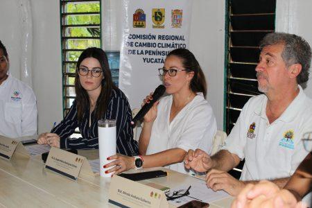 Yucatán, Campeche y Quintana Roo, unidos contra el cambio climático