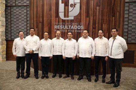 Autoridades federales y gobernadores reconocen trabajo de Mauricio Vila