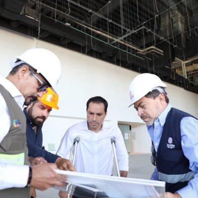 Remodelación del Centro de Convenciones Siglo XXI, en la etapa final