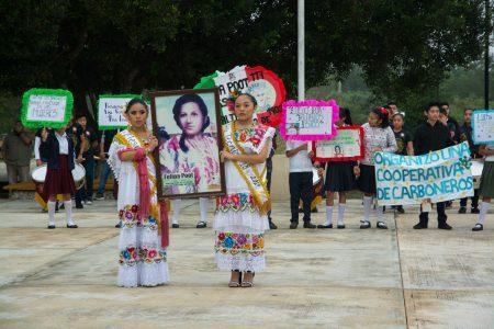Recuerdan la vida y lucha de Felipa Poot Tzuc