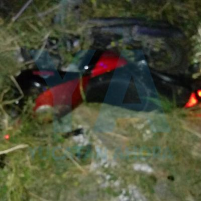 Trágico accidente en carretera de Motul: fallece un motociclista