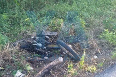 Tragedia en la carretera Mérida-Tizimín: muere un motociclista