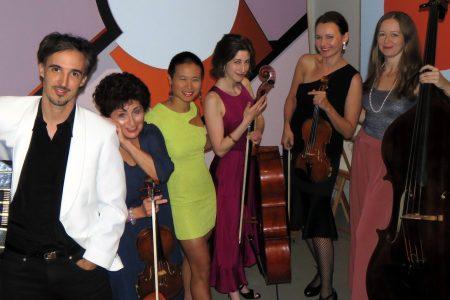 Velada de intercambio cultural, con QuinTango en el Palacio de la Música