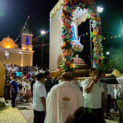 Kinchil rescata la fiesta de la Virgen de la Inmaculada Concepción