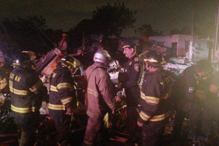 Tragedia en noche de fiesta por explosión en Kanasín: un muerto y tres niños graves