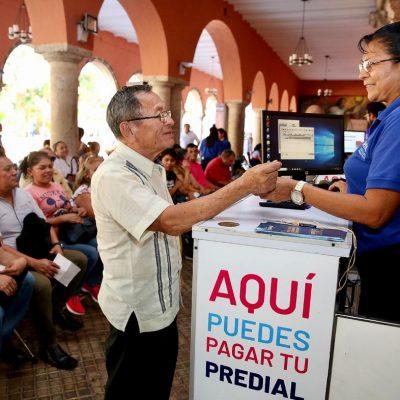 De nuevo el Ayuntamiento de Mérida premia a quienes paguen a tiempo el predial