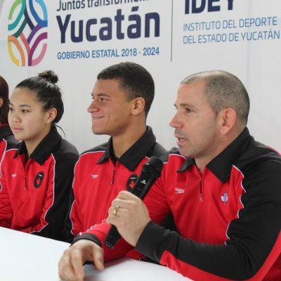 Entrena en Yucatán la selección juvenil de clavados de Canadá