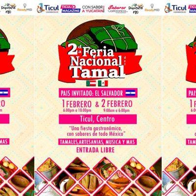 Ya viene la segunda Feria del Tamal y será en Ticul, el 1 y 2 de febrero