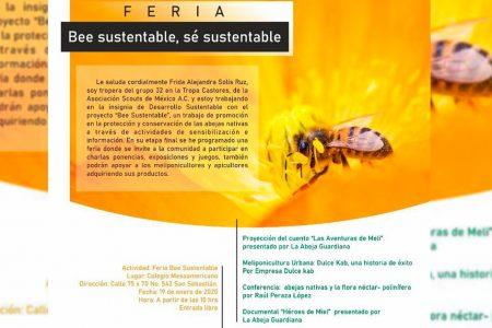 Jóvenes redescubrirán las abejas nativas de Yucatán
