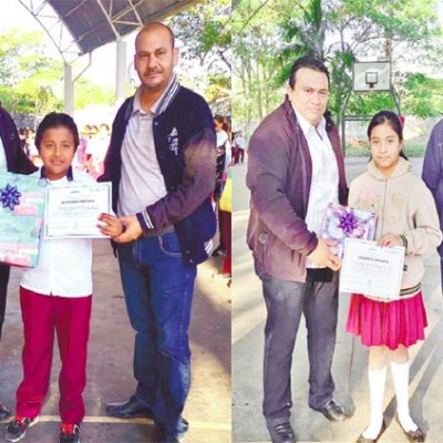Estudiantes de Cantamayec clasifican a la fase estatal de la Olimpiada de Matemáticas