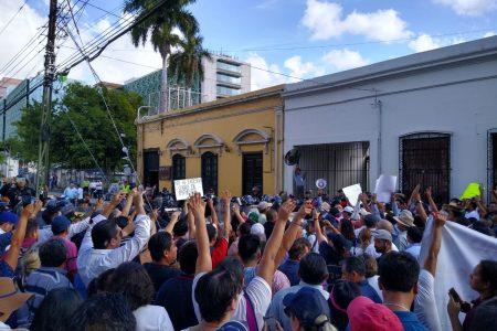 Operadores del PRI amenazan con 'reventar' nueva marcha en Yucatán