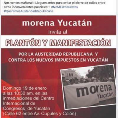 Morena quiere romper la paz y armonía social de Yucatán, acusa el PAN
