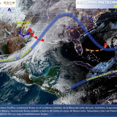 Pronostican amanecer de seis grados en el sur de Yucatán; en Mérida, 12°C