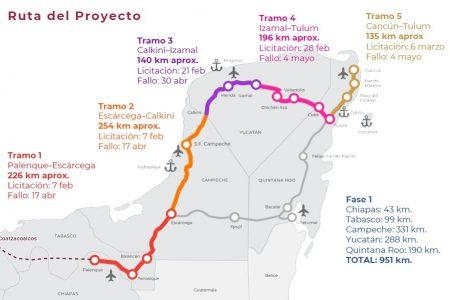 En abril iniciaría la construcción de los primeros tramos del Tren Maya