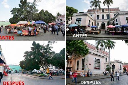 Liberan de vendedores informales varias calles del centro histórico de Mérida