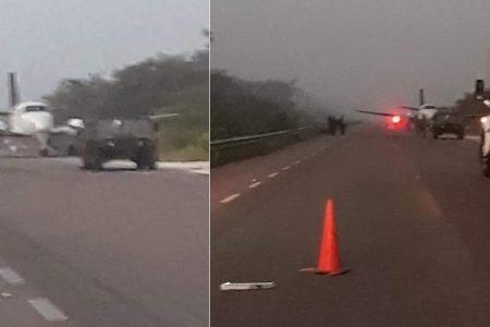 Muere militar en operativo por narcoavioneta en el sur de Quintana Roo