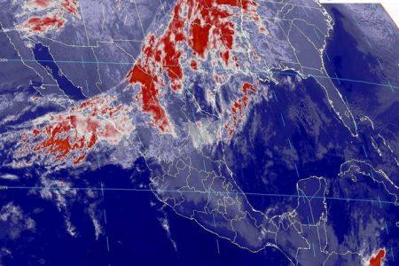 Conagua pronostica calor en la Península de Yucatán, con nublados por la tarde