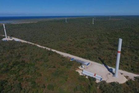 En mayo inauguran el parque eólico en Progreso