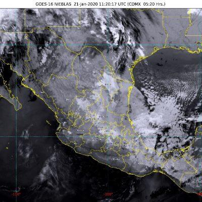Luego de una tregua que hizo olvidar el invierno, vuelve el frío a Yucatán