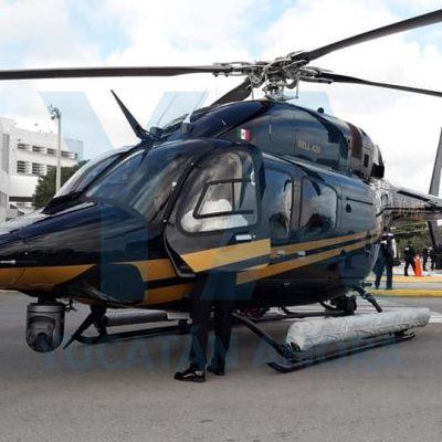 Nuevo helicóptero de la SSP, único en América Latina por su equipamiento
