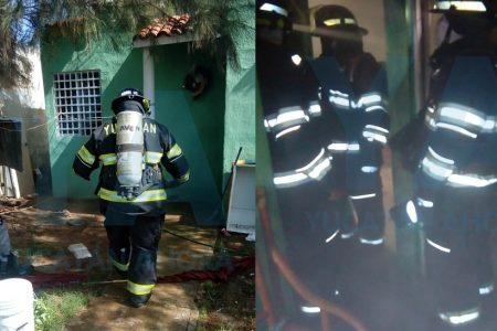 Héroes sin capa salvan a cuatro niños atrapados en casa incendiada