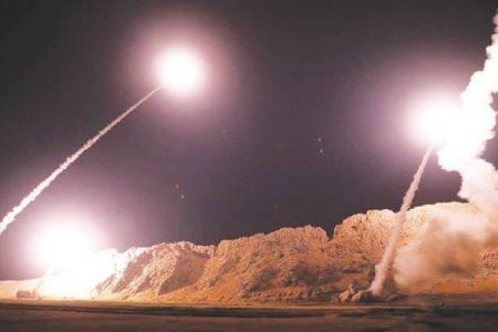 Irán lanza misiles contra bases de Estados Unidos en Irak