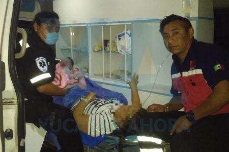 Nace en ambulancia y en carretera: la niña no esperó a llegar al hospital en Mérida