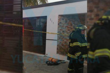 Incendio en una casa de Reparto Granjas: muere quemado un discapacitado