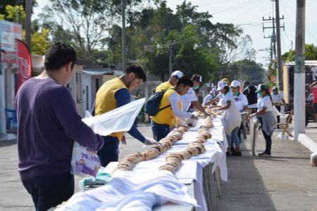 Tizimín logra el Récord Guinness de la Rosca de Reyes más grande del mundo