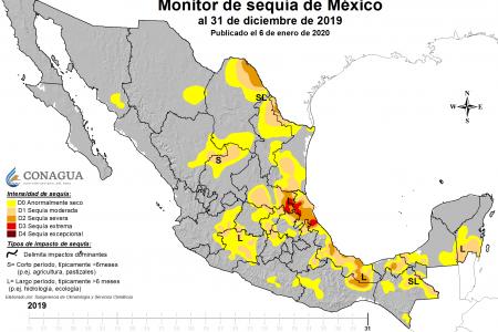 En 2019, la sequía prevaleció en la Península el 75% del año