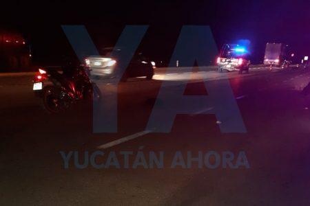 Otra muerte trágica de un transeúnte en la carretera Mérida-Cancún
