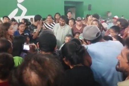 Pleito en Polifórum Zamná: no les pagaron por ir a la asamblea de nuevo partido