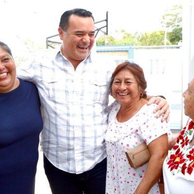 Cumple promesa Renán Barrera de entregar nuevo parque en Chichí Suárez
