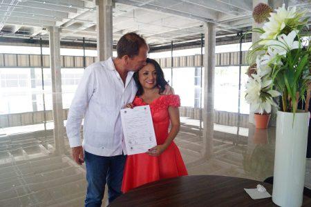 Les pega duro el amor y se casan en Yucatán 131 parejas este 14 de febrero