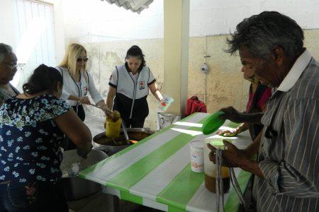 Cruz Roja Progreso apoya al comedor Genaro Cervera