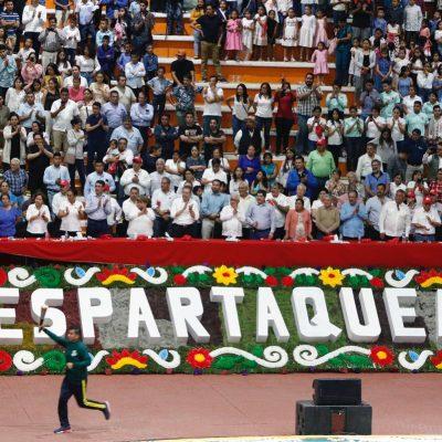 Arranca la XX Espartaqueada Deportiva Nacional con 21 mil atletas