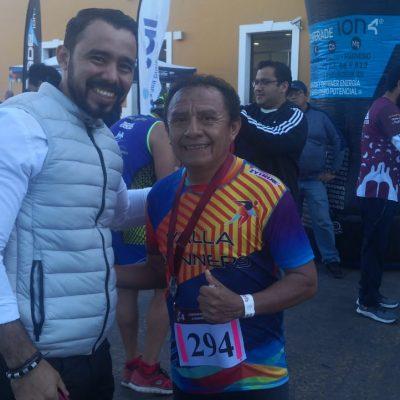 Antonio Espinoza gana la carrera del Día de la Candelaria