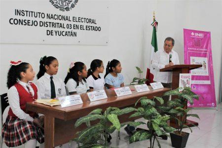 Yucatán envía cinco niñas diputadas al Parlamento Infantil 2020